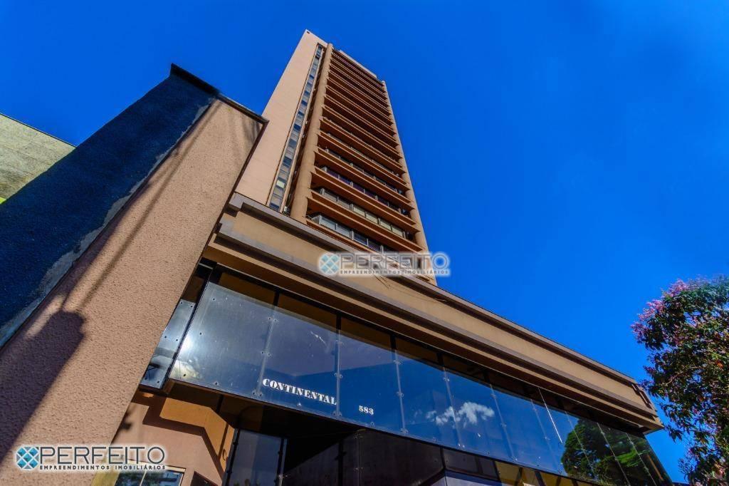 Sala para alugar na Avenida Higienópolis, Centro de Londrina, 98 m² por R$ 1.500/mês