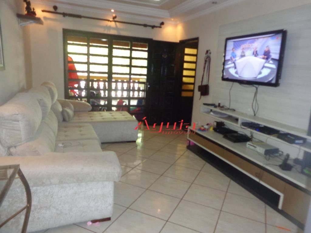 Sobrado com 3 dormitórios, 244 m² por R$ 480.000 - Jardim Santo Alberto - Santo André/SP