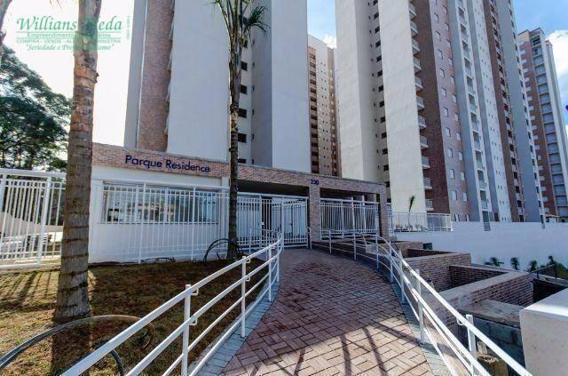 Apartamento com 2 dormitórios à venda, 58 m² por R$ 275.000 - Jardim Flor da Montanha - Guarulhos/SP