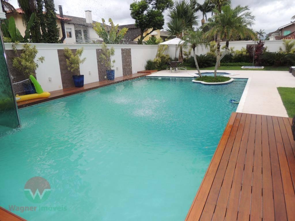 sobrado à venda no jardim acapulco em guarujá, sala 4 ambientes com lavabo, 5 suítes (1...