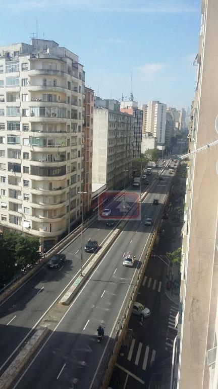 Apartamento de 1 dormitório à venda em Santa Cecília, São Paulo - SP