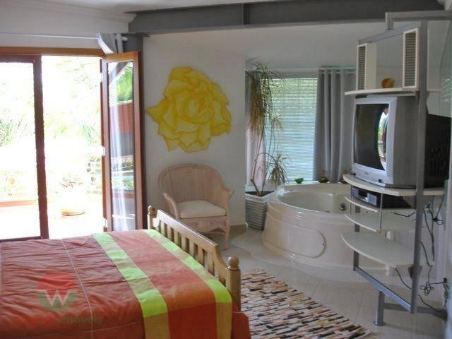 sobrado à venda no jardim acapulco em guarujá, sala 4 ambientes, escritório, bar, 6 suítes (1...