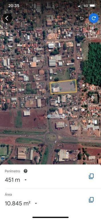 Área à venda, 10000 m² por R$ 11.000.000 - Jardim São Pedro - Dourados/MS
