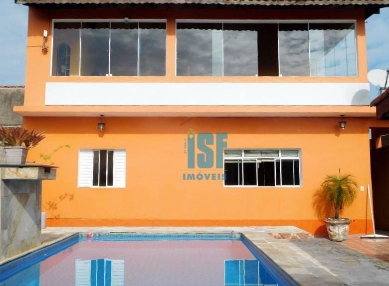 Sobrado com 2 dormitórios à venda, 300 m² por R$ 350.000,00 - Jardim Suarão - Itanhaém/SP