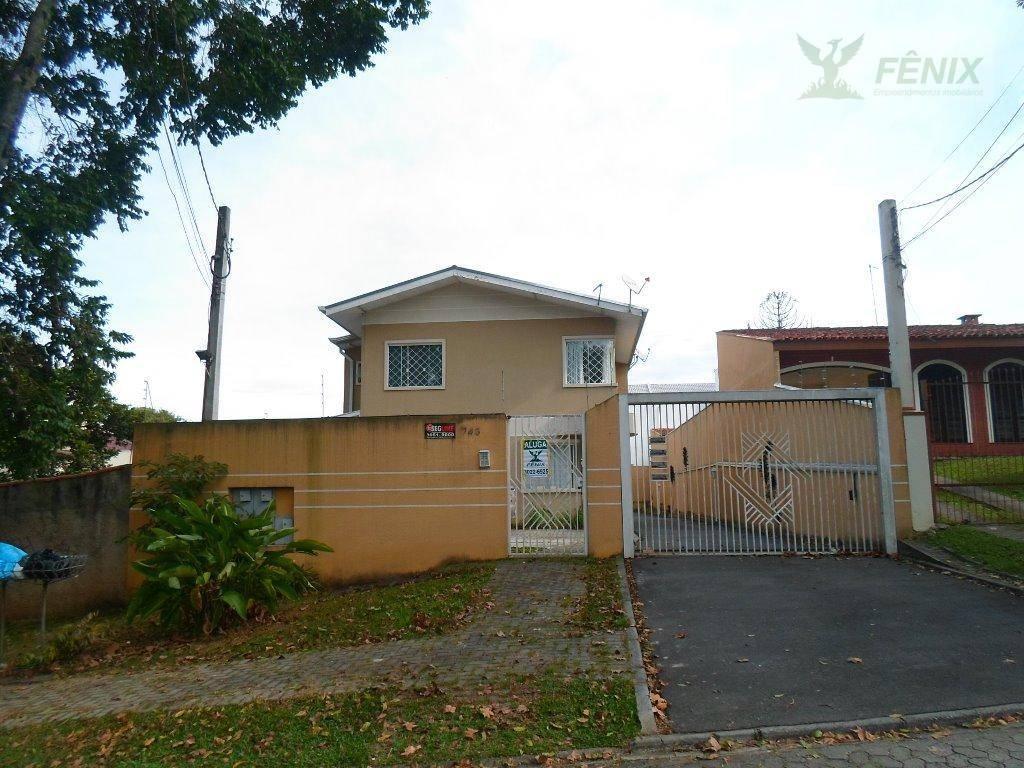 Sobrado residencial para locação, Boa Vista, Curitiba.