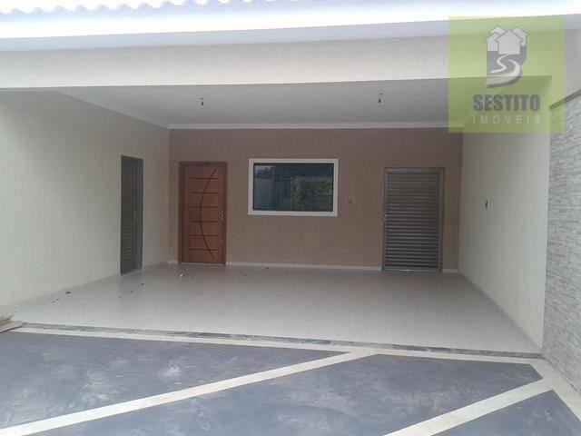 Casa residencial à venda, Loteamento Colina do Sol, Catanduva.