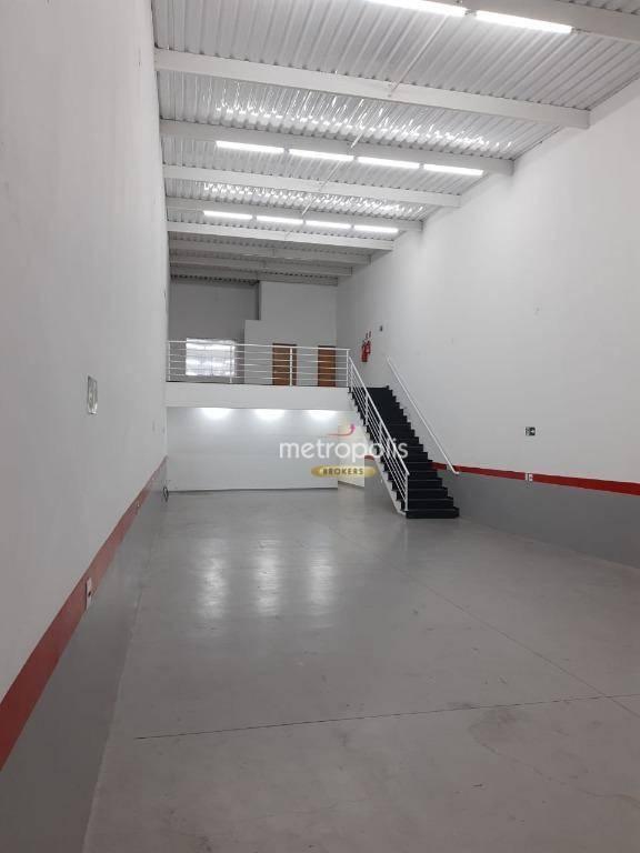 Galpão para alugar, 250 m² por R$ 8.500,00/mês - Centro - São Bernardo do Campo/SP