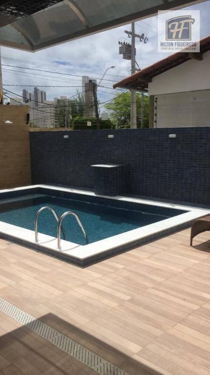 Apartamento com 2 dormitórios à venda, 62 m² por R$ 270.040,00 - Bessa - João Pessoa/PB
