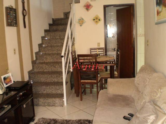 Sobrado Residencial à venda, Vila Camilópolis, Santo André - SO0075.