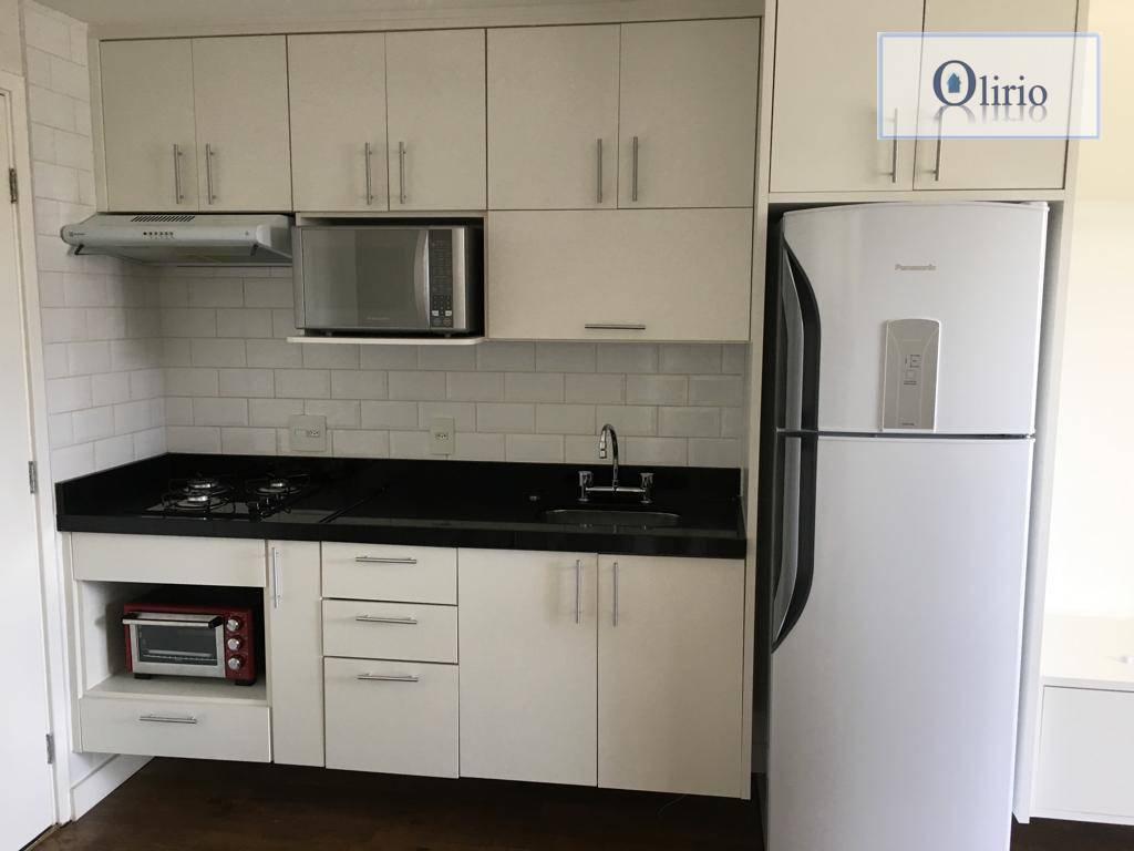Apartamento com 1 dormitório para alugar por R$ 2.200/mês - Vila Andrade - São Paulo/SP