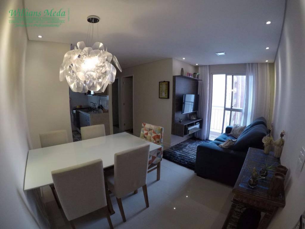 Apartamento residencial à venda, 2 dormitórios, 1 vaga. Jard