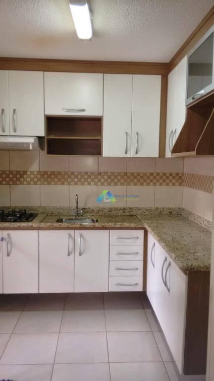 Sobrado com 3 dormitórios à venda, 81 m² por R$ 341.000,00 - Parque Villa Flores - Sumaré/SP