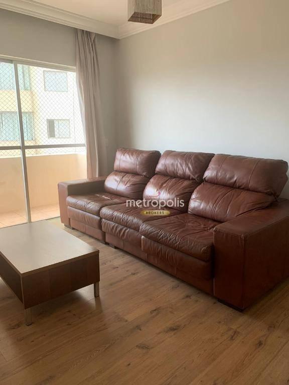 Apartamento com 2 dormitórios para alugar, 61 m² por R$ 1.300,00/mês - Vila João Basso - São Bernardo do Campo/SP