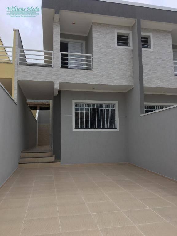 Sobrado com 3 dormitórios à venda, 180 m² por R$ 550.000 - Jardim Santa Clara - Guarulhos/SP
