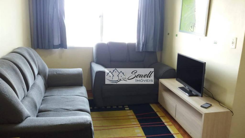 Apartamento para alugar por R$ 1.000/mês - Vila Santa Cássia - São Bernardo do Campo/SP