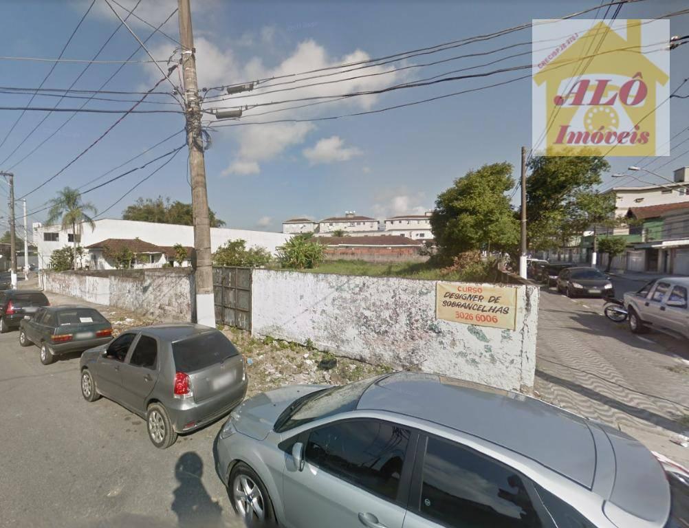 Terreno comercial à venda, Parque São Vicente, São Vicente.