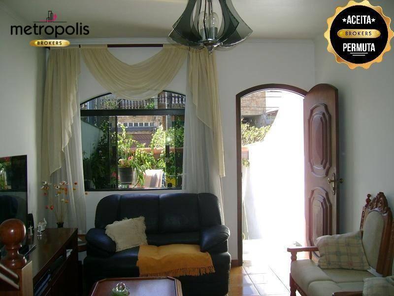Sobrado com 2 dormitórios à venda, 170 m² por R$ 590.000 - Olímpico - São Caetano do Sul/SP