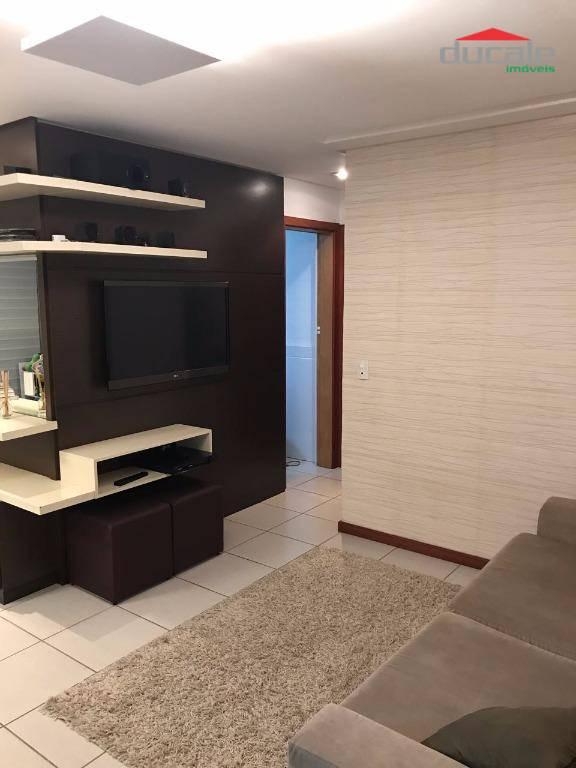 Apartamento residencial à venda, Jardim Camburi, Vitória - A