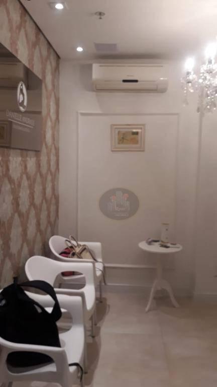 Sala à venda, 49 m² por R$ 340.000,00 - Boqueirão - Santos/SP