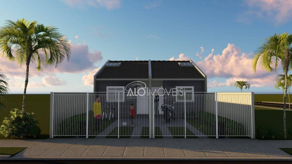 Casa com 2 dormitórios à venda, 36 m² por R$ 170.000 - Ganchinho - Curitiba/PR