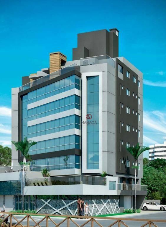 Apartamento com 2 dormitórios à venda, 130 m² por R$ 1.096.300 - Gravatá - Navegantes/SC