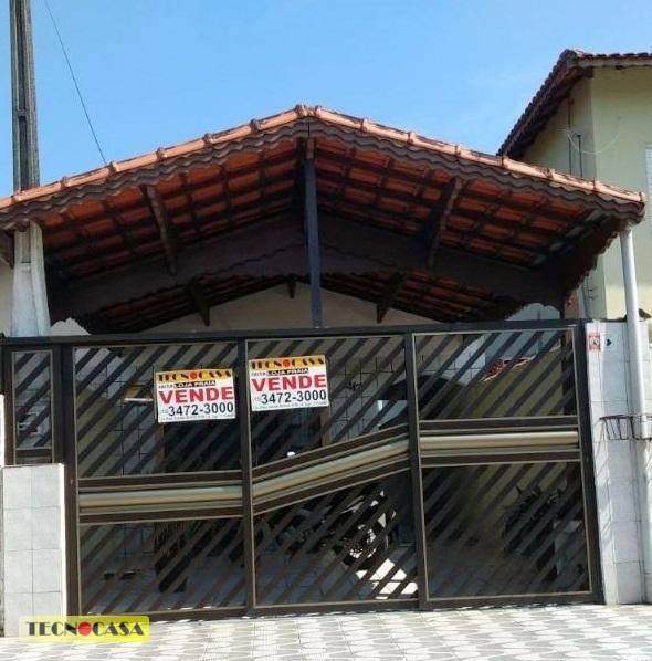 Casa 02 Dormitórios sendo 1 suíte à Venda no Jardim Melvi, Praia Grande.