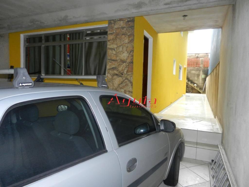Sobrado residencial à venda, Parque Marajoara, Santo André.