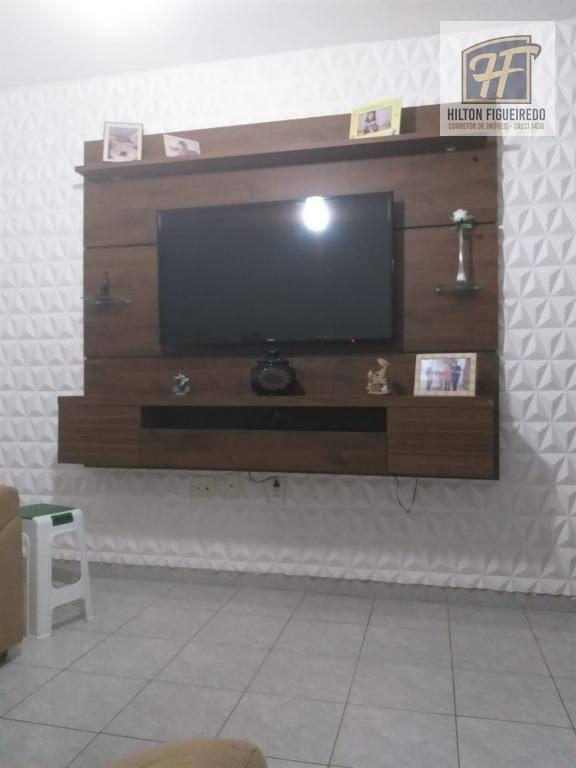 Apartamento com 3 dormitórios para alugar, 120 m² por R$ 1.650,00/mês - Bessa - João Pessoa/PB