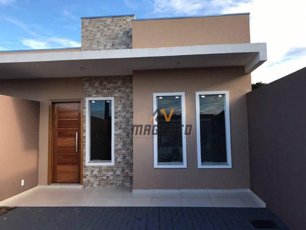 Casa com 3 dormitórios à venda, 76 m² por R$ 285.000 - Guarujá - Cascavel/PR