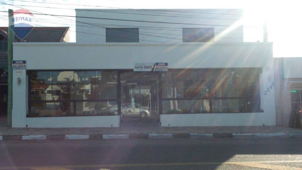 Salão para alugar, 237 m² por R$ 6.000/mês  Alameda Lucas Nogueira Garcez, 2546 - Vila Thais - Atibaia/SP