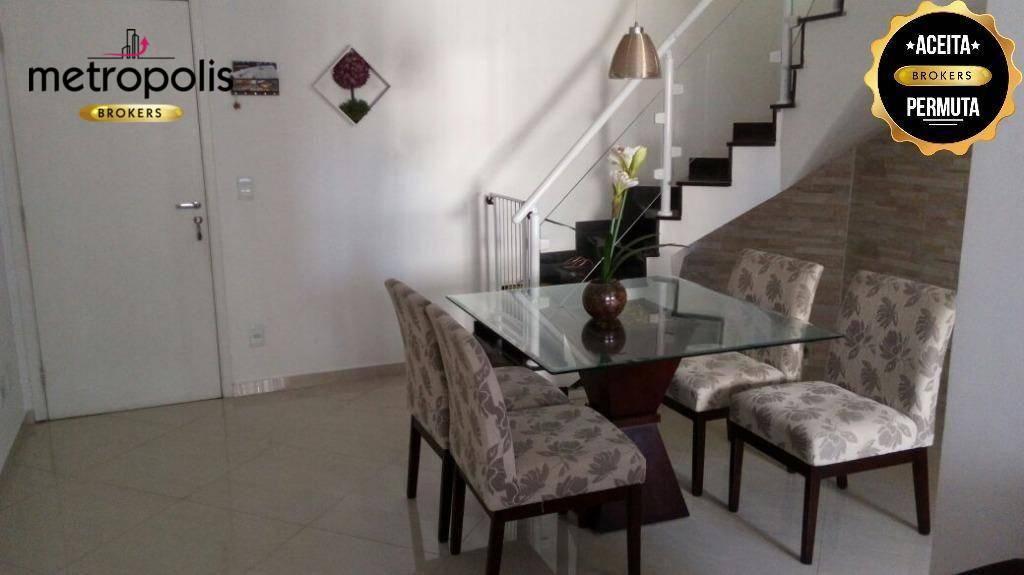 Cobertura residencial à venda, Vila Guiomar, Santo André.