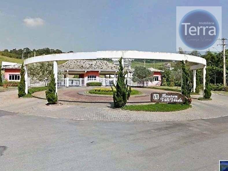 Terreno à venda, 500 m² - Reserva Vale Verde - Granja Viana