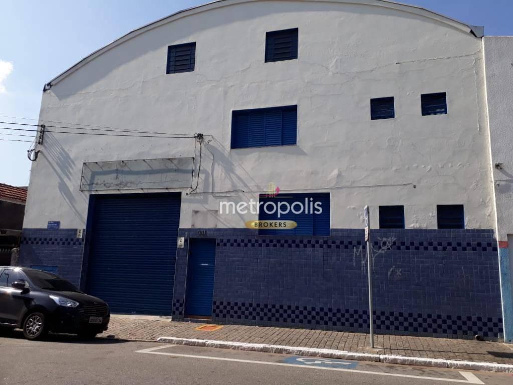 Galpão para alugar, 1152 m² por R$ 17.000,00/mês - Centro - São Caetano do Sul/SP