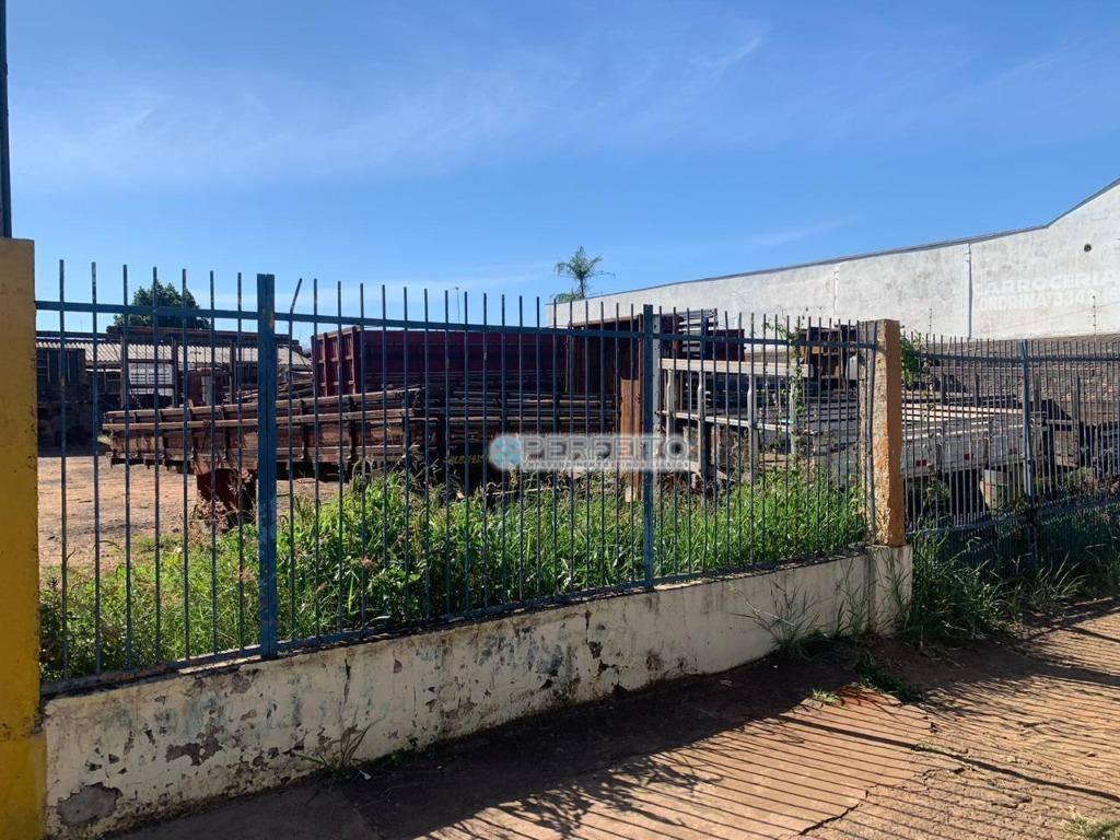 Terreno à venda, 600 m² por R$ 600.000,00 - Indústrias - Londrina/PR