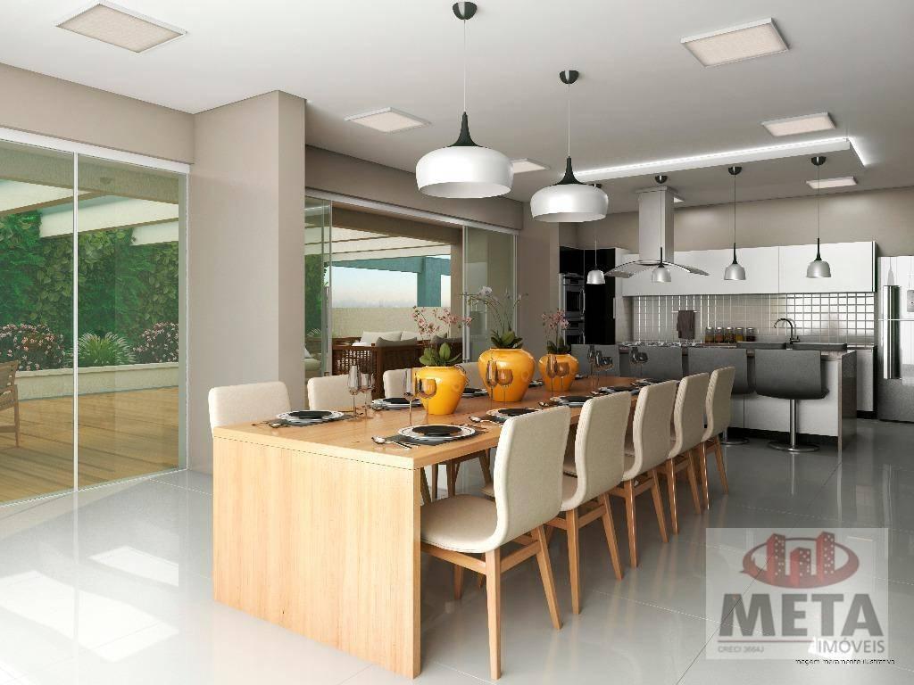 Apartamento com 2 Dormitórios à venda, 76 m² por R$ 407.298,73