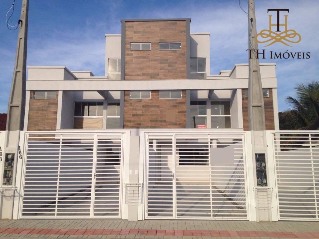 TRIPLEX COM 3 SUÍTES, 2 VAGAS DE GARAGEM, 115 M² DE ÁREA CONSTRUÍDA, NO BAIRRO SÃO FRANCISCO DE ASSIS - CAMBORIÚ - DE R$450.000,00 POR R$365.000,00