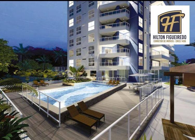 Apartamento com 3 dormitórios à venda, 115 m² por R$ 671.547 - Miramar - João Pessoa/PB