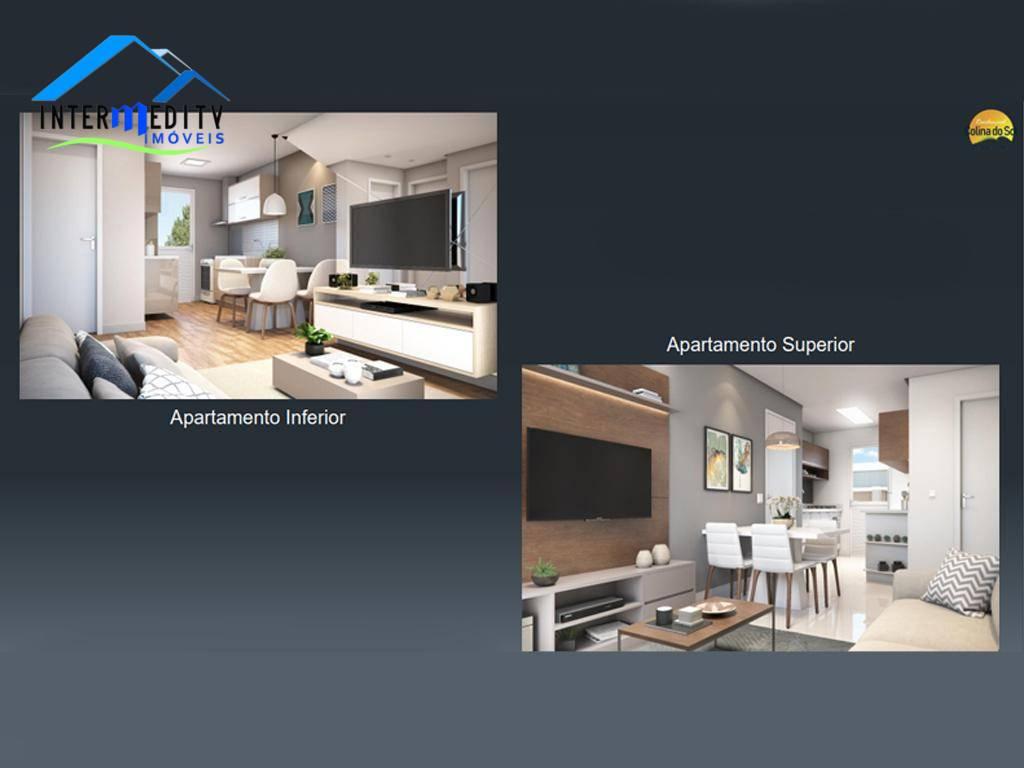 Apartamento com 2 dormitórios à venda, 40 m² por R$ 125.000 - Jardim Campo Verde - Almirante Tamandaré/PR