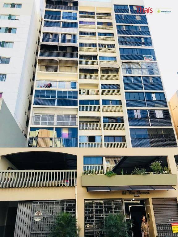 cnb 13 lote 11 - san thomas - taguatinga norteexcelente apartamento no 6º andar, sendo 02...