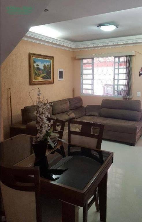 Sobrado 2 dormitórios, 2 vagas, Jardim Adriana, Guarulhos.