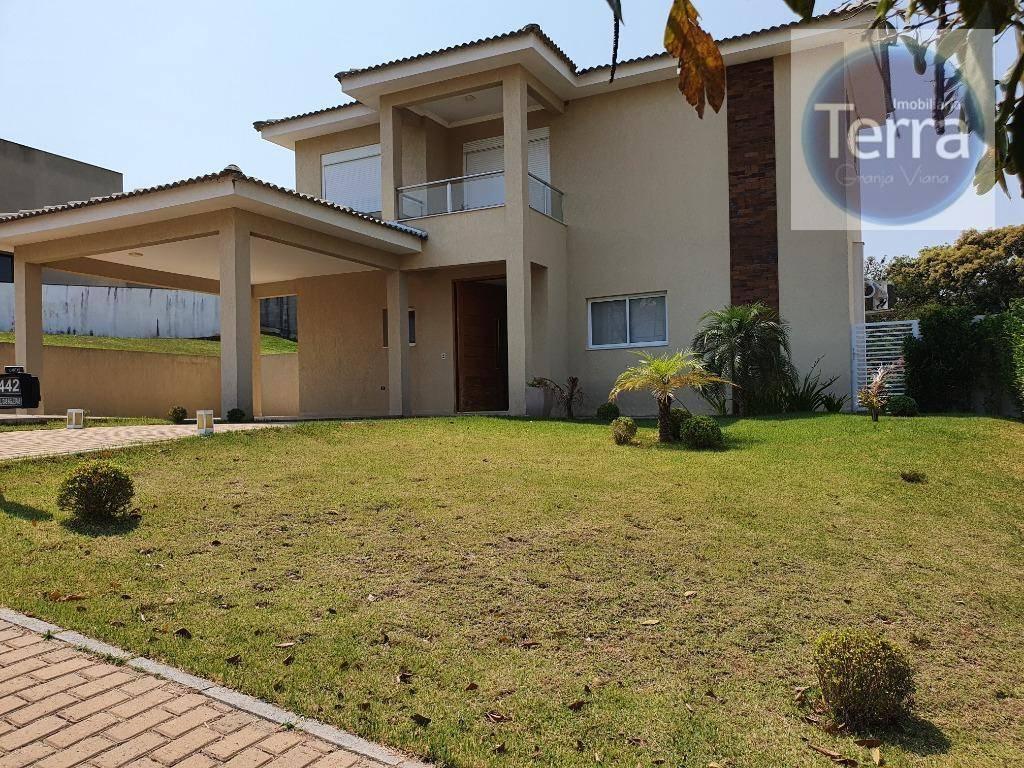 Casa com 3 dormitórios à venda - Alphaville Granja Viana .