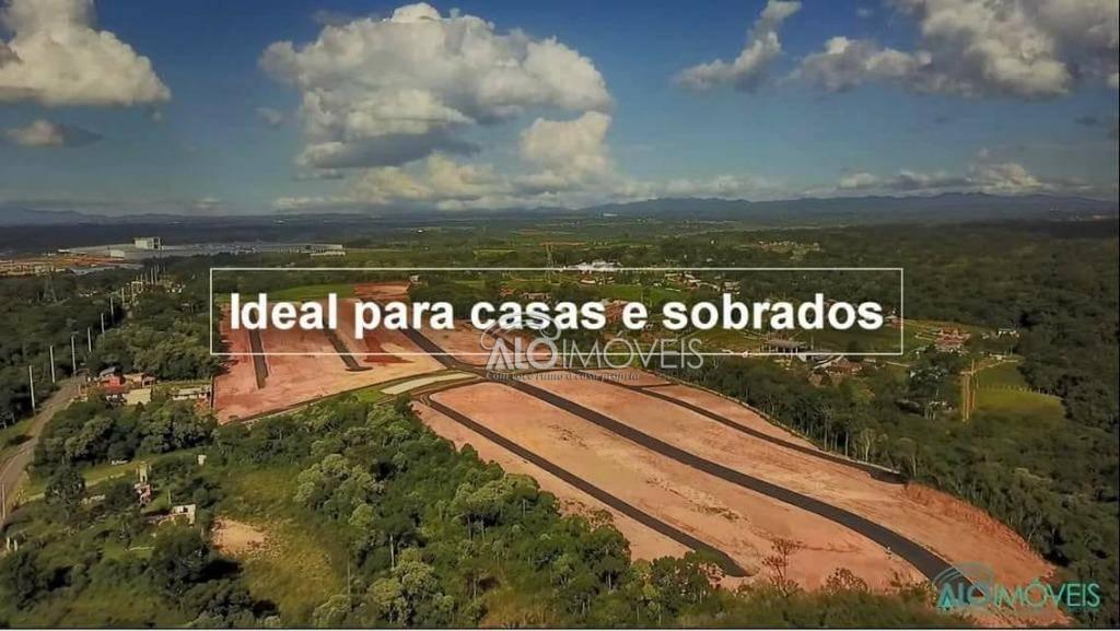Terreno à venda, 156 m² por R$ 84.372 - Eucaliptos - Fazenda Rio Grande/PR