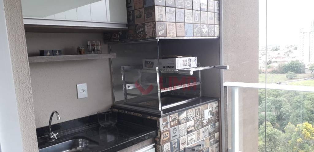 Apartamento com 2 dormitórios à venda, 75 m² por R$ 450.000 - Vila Aviação - Bauru/SP