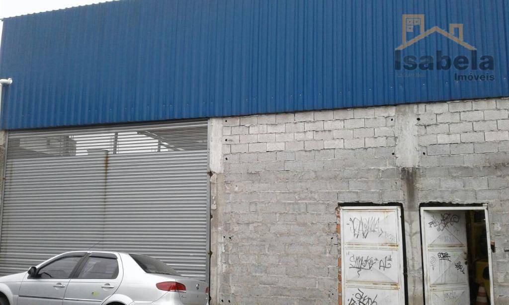 Galpão comercial à venda, Paulicéia, São Bernardo do Campo.