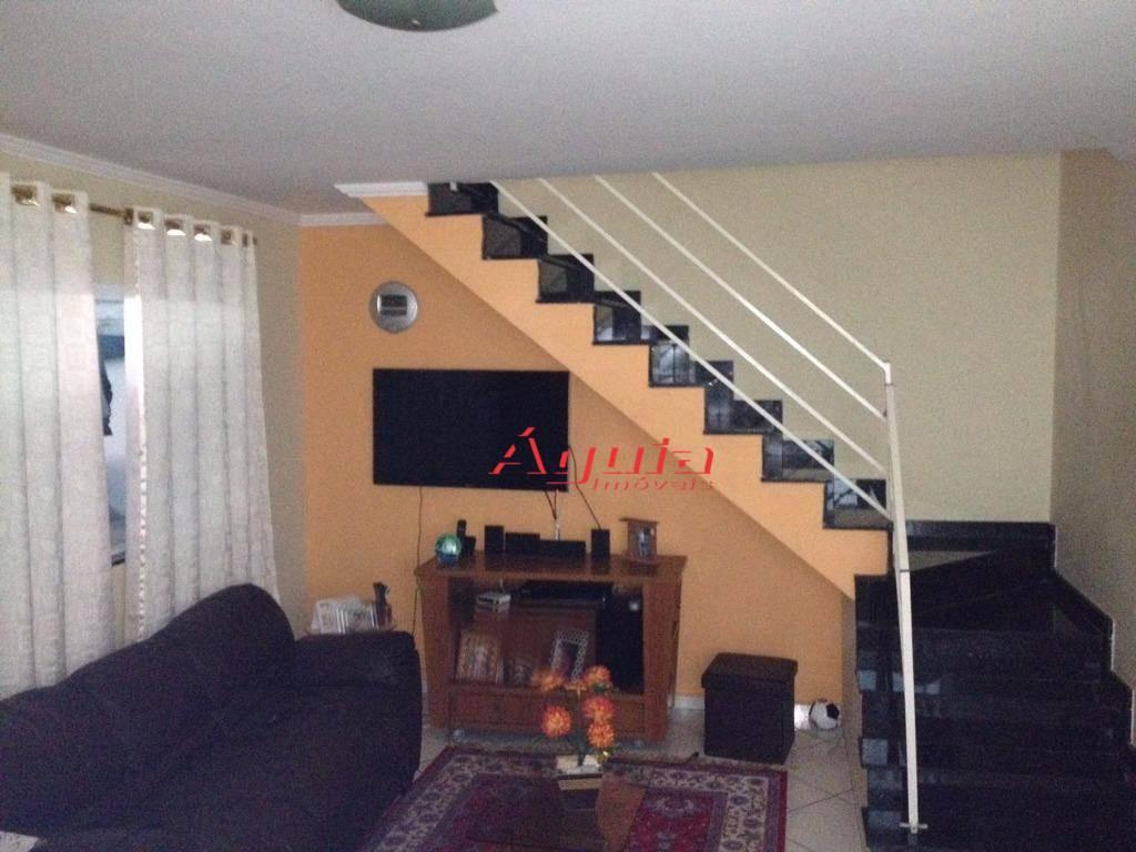 Sobrado com 3 dormitórios à venda, 104 m² por R$ 360.000,00 - Vila Lucinda - Santo André/SP
