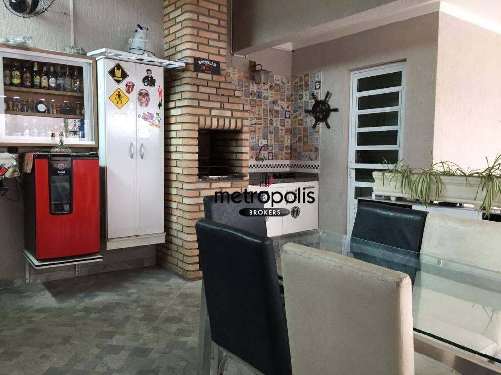 Sobrado com 2 dormitórios à venda, 88 m² por R$ 449.000 - Jardim das Maravilhas - Santo André/SP