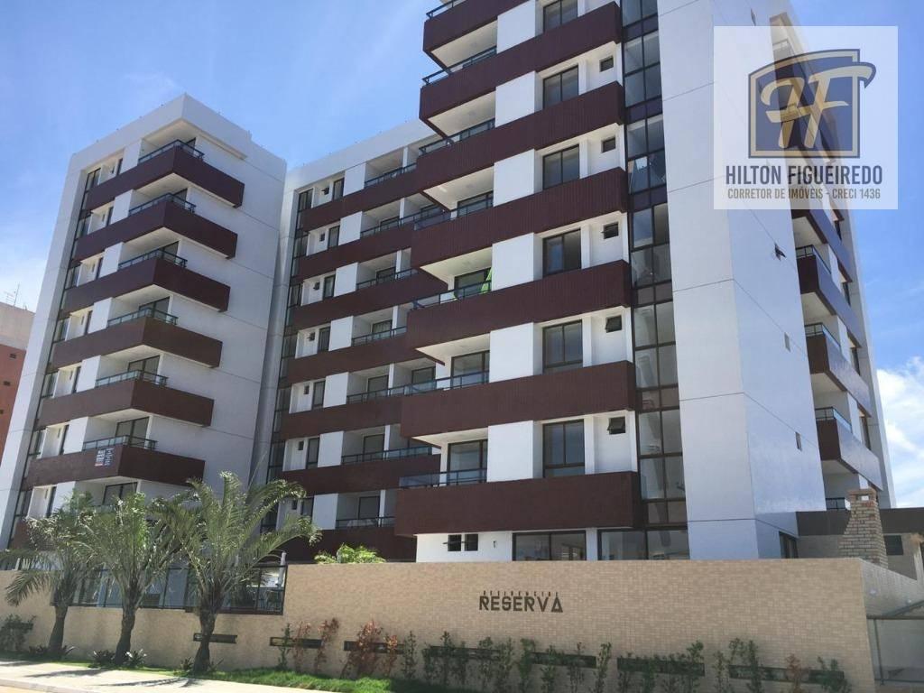 Apartamento com 3 dormitórios à venda, 72 m² por R$ 370.000,00 - Bessa - João Pessoa/PB