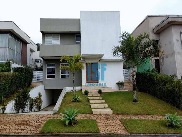 Sobrado com 4 dormitórios à venda, 454 m² por R$ 1.800.000 - Alphaville - Santana de Parnaíba/SP - SO5594.