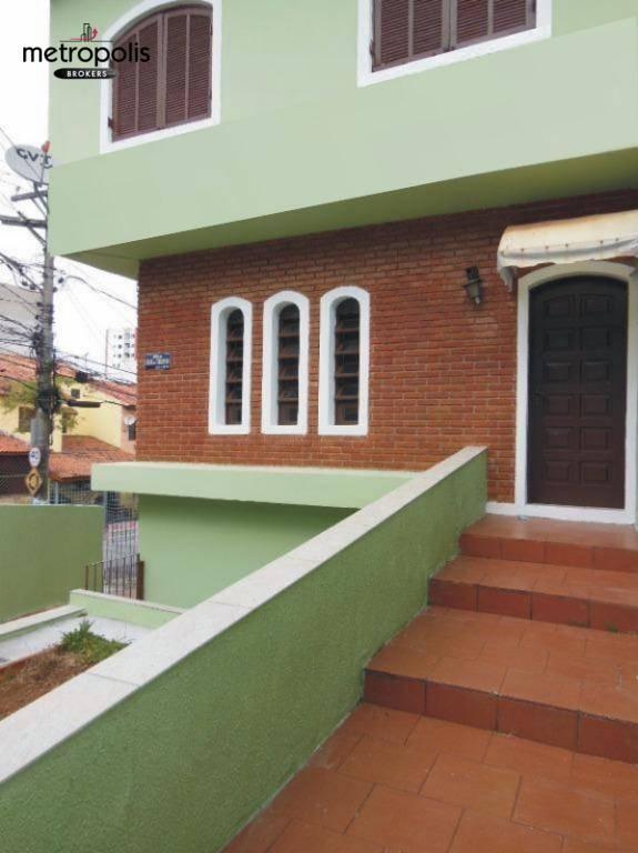 Sobrado com 3 dormitórios para alugar, 135 m² por R$ 2.100/mês - Nova Petrópolis - São Bernardo do Campo/SP