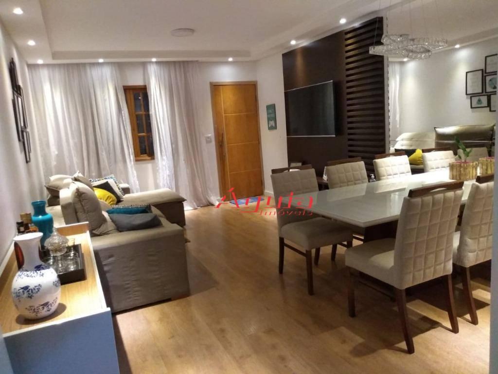 Casa com 2 dormitórios à venda, 100 m² por R$ 430.000,00 - Utinga - Santo André/SP